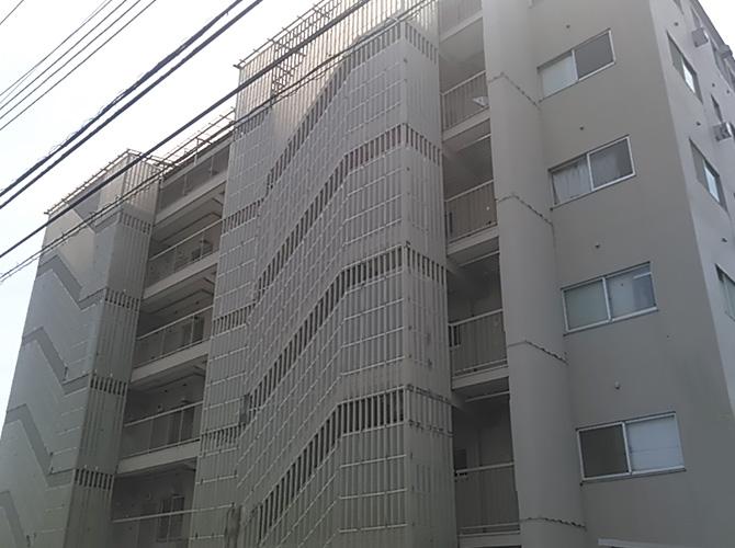東京都足立区マンションの大規模修繕工事の施工前