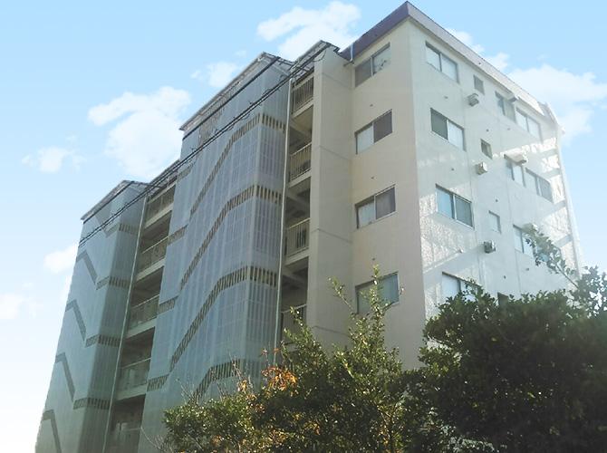 東京都足立区マンションの大規模修繕工事の施工後
