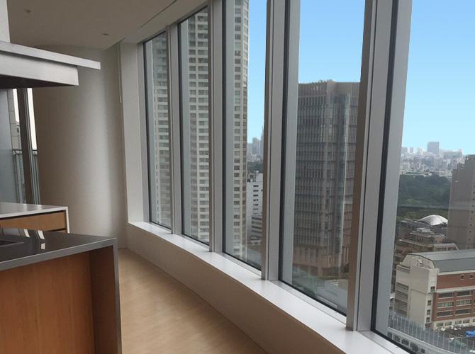 東京都港区マンションの内装塗装工事の施工後