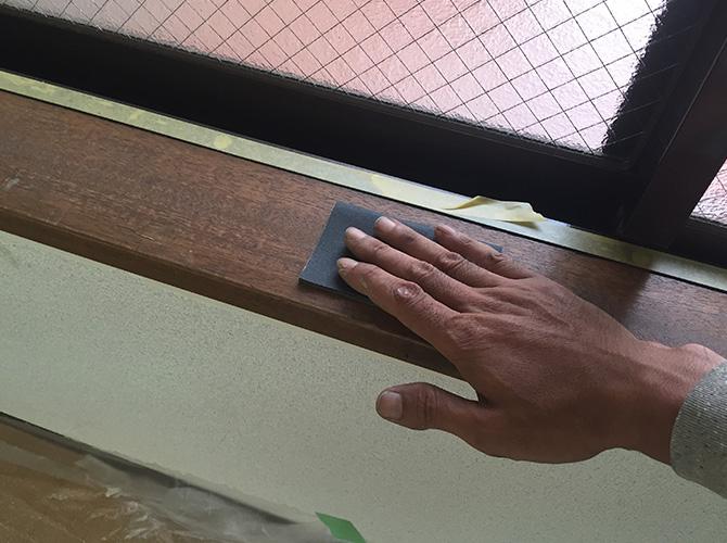 東京都新宿区マンションの内装塗装工事の施工前