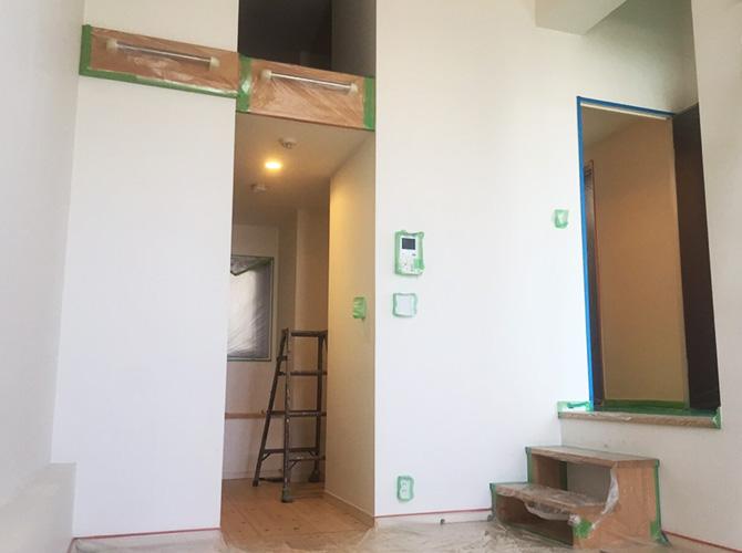 千葉県船橋市マンションの内装塗装工事の施工前