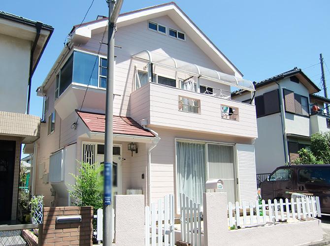東京都葛飾区の外壁塗装・屋上防水の施工後