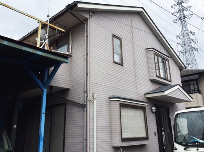 東京都あきる野市の外壁塗装・屋根塗装工事の施工前