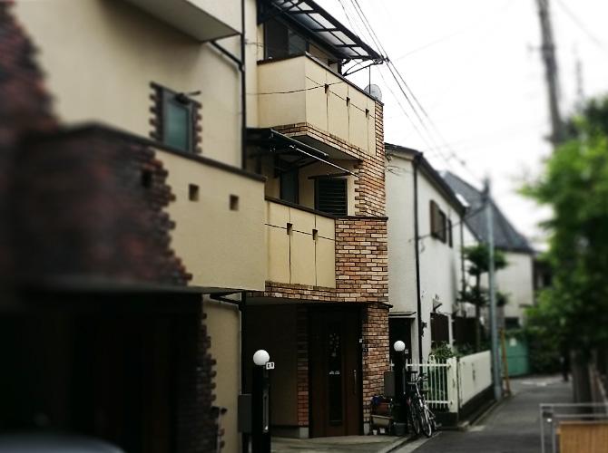 東京都板橋区の外壁塗装・屋根塗装工事の施工前