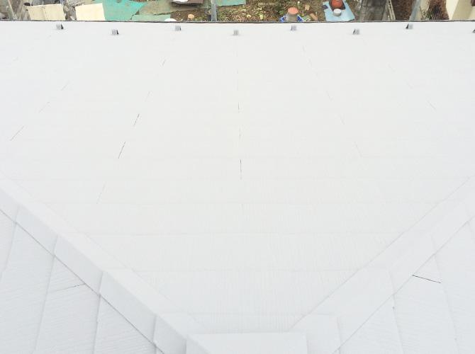 東京都江戸川区のガイナ塗装工事の施工事例