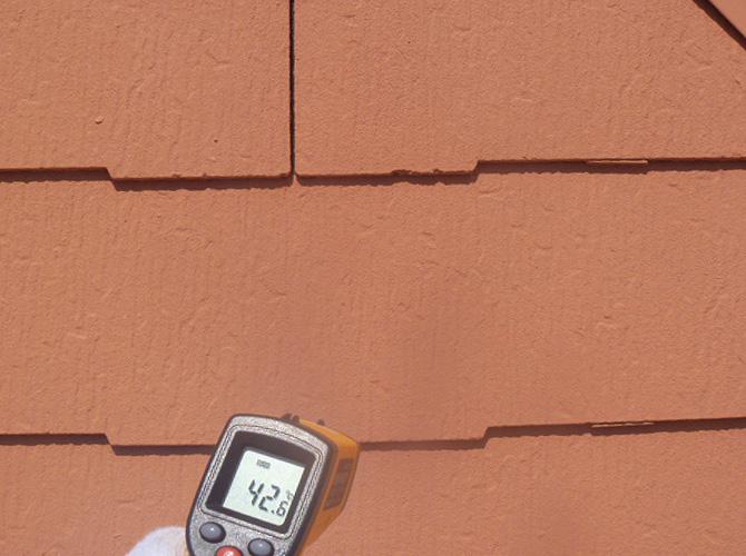 東京都板橋区のガイナ塗装工事の施工事例