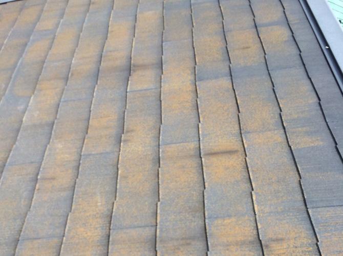 施工前の屋根の状態です。