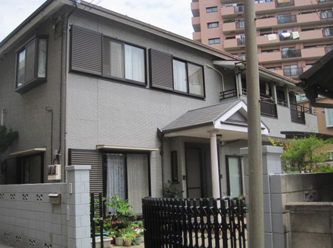 東京都江戸川区の外壁塗装・屋根塗装の施工前