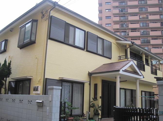 東京都江戸川区の外壁塗装・屋根塗装の施工後