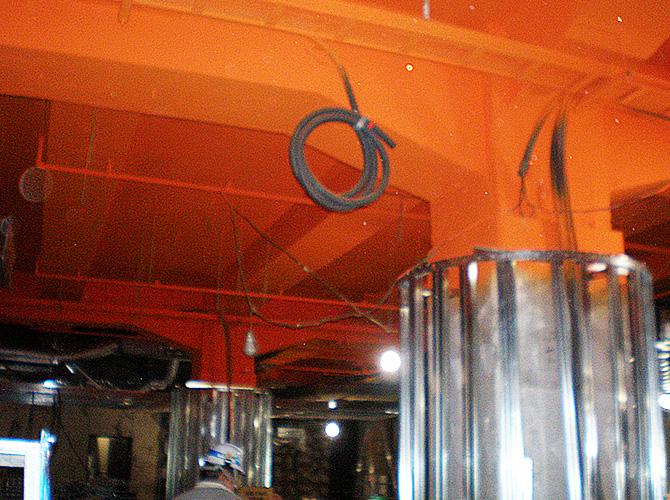 東京都中央区銀座のガイナ塗装工事の施工事例