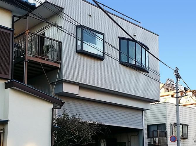 埼玉県戸田市の外壁塗装・屋上防水工事の施工後