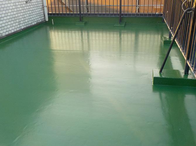 埼玉県草加市の外壁塗装・屋上防水工事の施工後