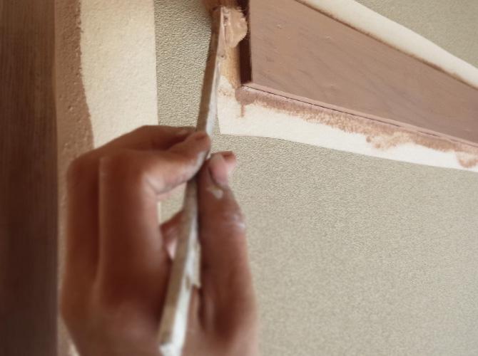 内装塗装の場合は最短1日で塗装工事が完了します。