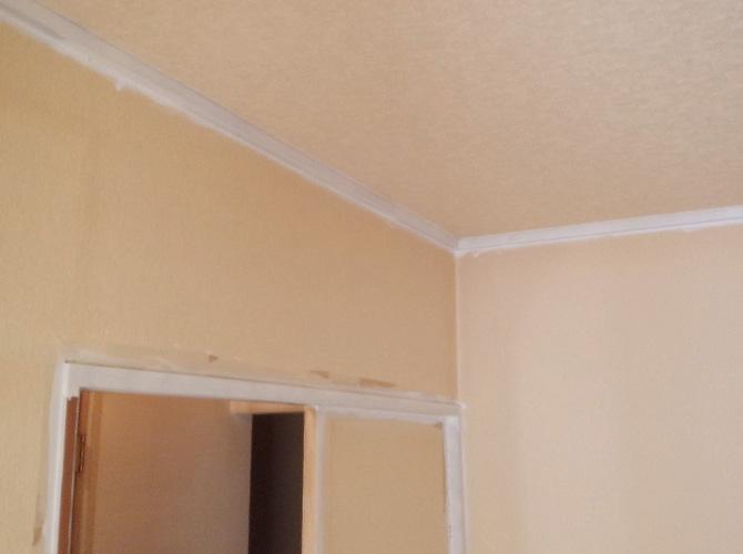 内装塗装の施工完了後のようすです。