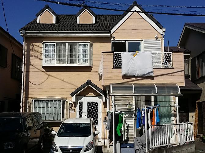 埼玉県八潮市の外壁塗装・屋根塗装工事の施工前