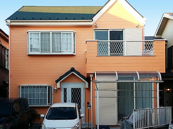 埼玉県八潮市の外壁塗装・屋根塗装工事の施工後