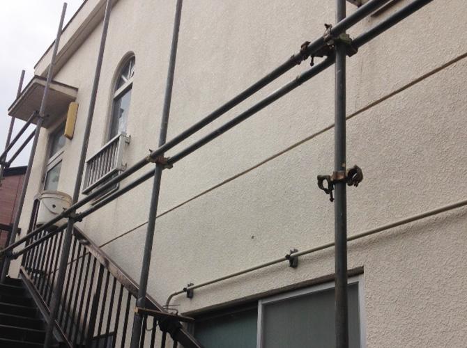 神奈川県川崎市幼稚園の外壁改修工事の施工前