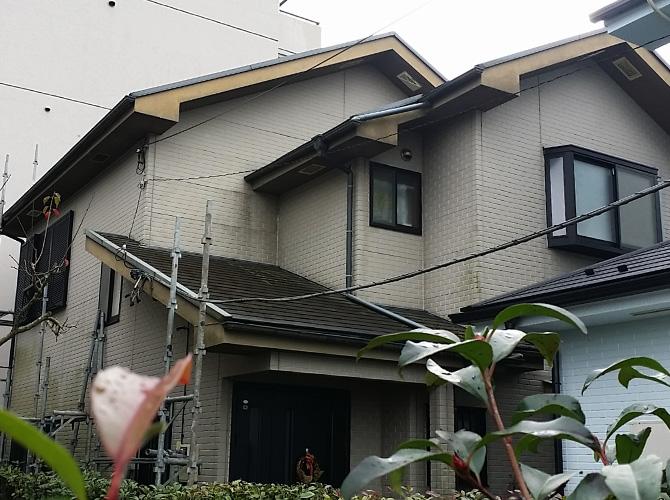 千葉県印旛郡酒々井の外壁塗装・屋根塗装工事の施工前