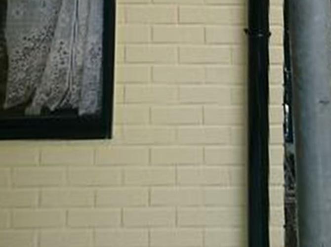 外壁塗装の仕上がり状況です。