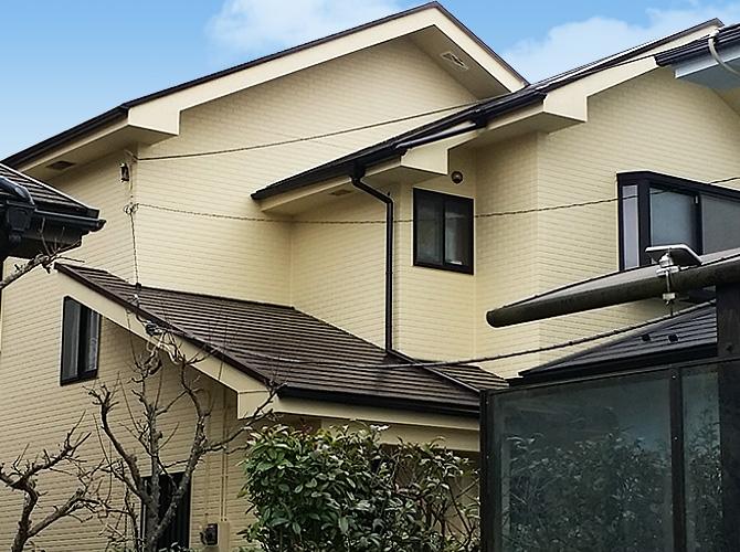 千葉県印旛郡酒々井の外壁塗装・屋根塗装工事の施工後