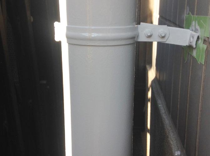雨樋など外壁付帯部の塗装もお任せ下さい。