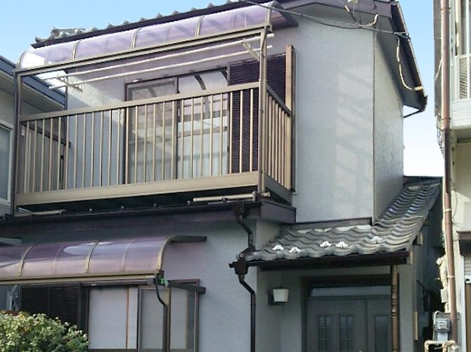 埼玉県草加市の外壁塗装・付帯部塗装工事の施工後