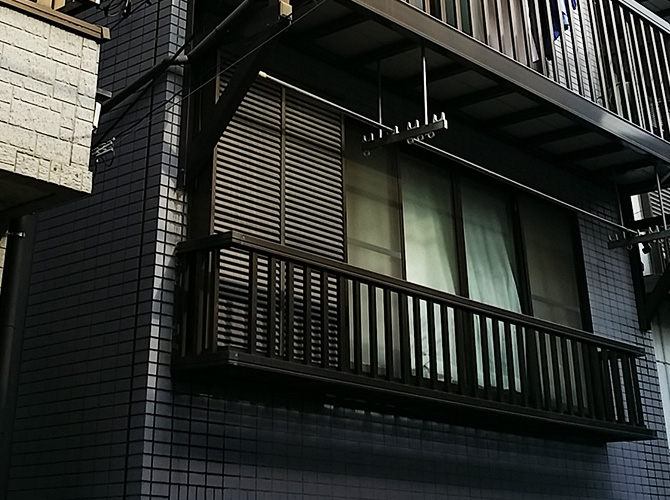 東京都江東区の外壁塗装・屋根塗装工事の施工前