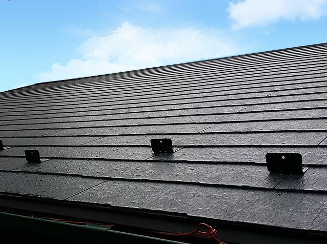 東京都足立区工場の屋根葺き替え工事の施工後