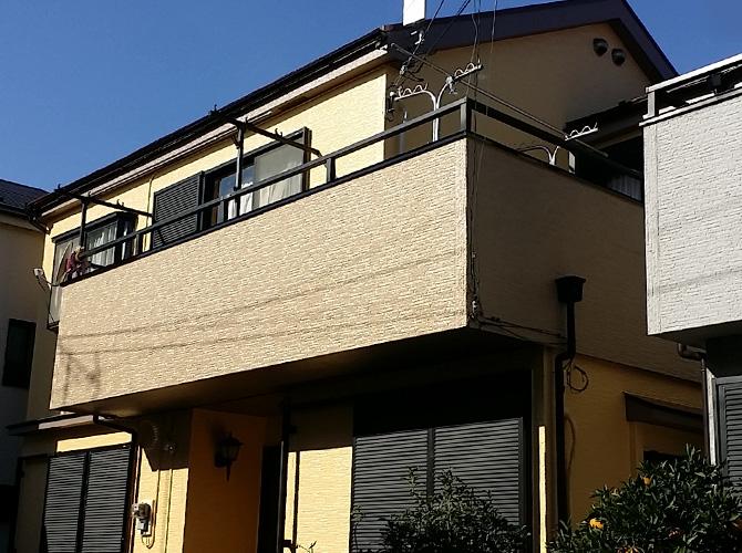 東京都足立区の外壁塗装・屋根塗装工事の施工後