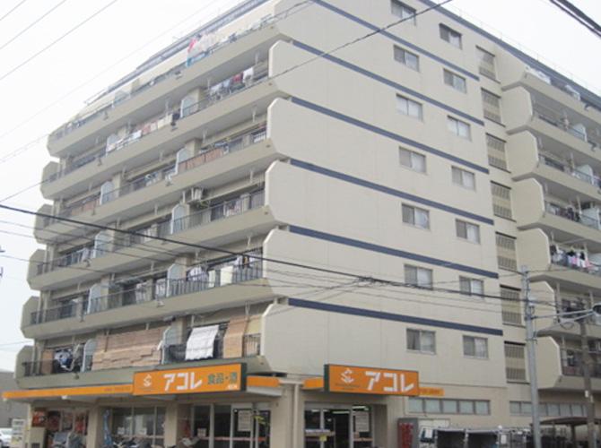 埼玉県川口市マンションの外壁塗装・防水工事の施工前