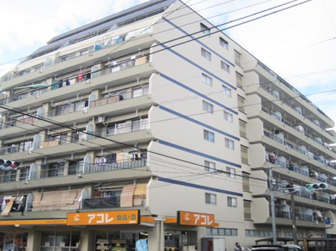 埼玉県川口市マンションの外壁塗装・防水工事の施工後