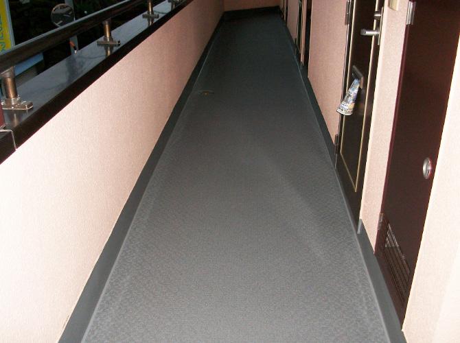 廊下だけや階段だけの補修工事も承っています。