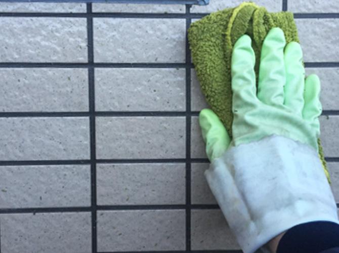外壁タイルの補修・塗装・洗浄など対応可能です。