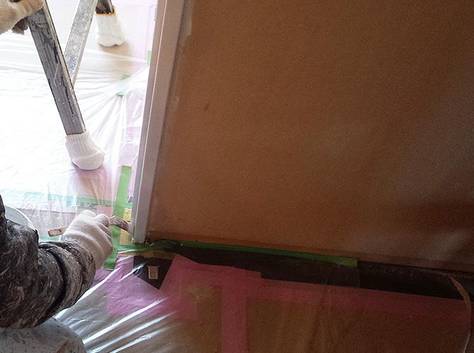 マンションの内装塗装工事もお任せ下さい。