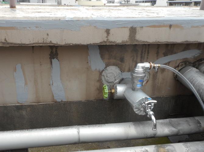 規模によって1日で雨漏り修理が完了します。