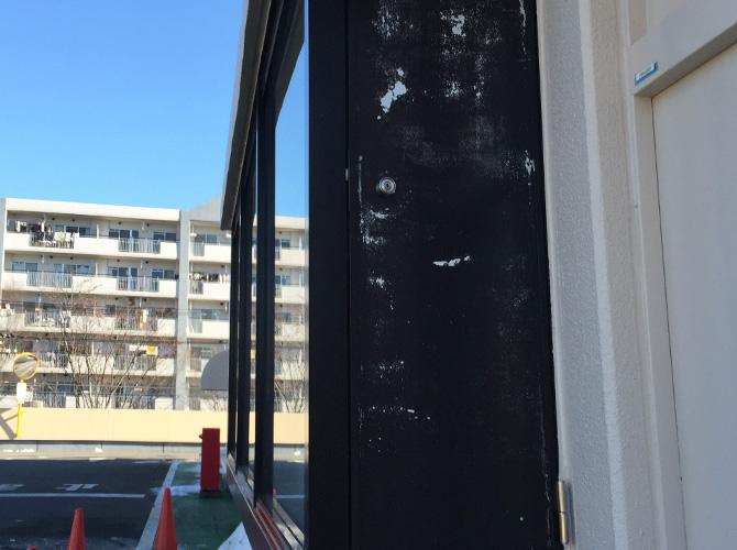東京都八王子市ATM塗装工事の施工前