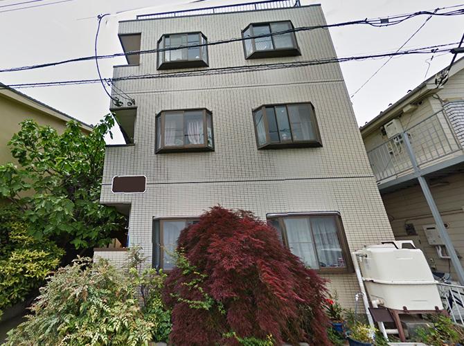 埼玉県川口市アパートの外壁塗装・シール補修工事の施工前