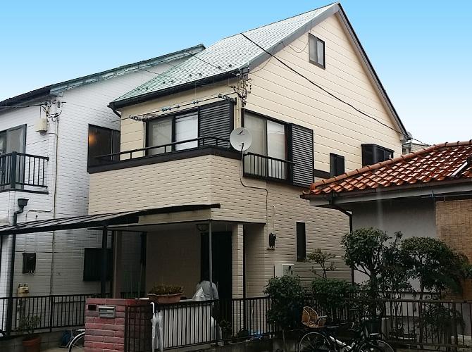 東京都足立区西保木間の外壁塗装・屋根塗装工事の施工後
