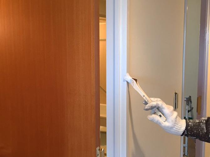 下塗りはケンエースでの施工です。