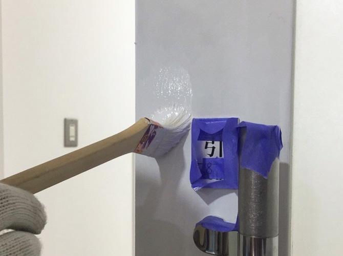 ビル内装の壁・床の工事と合わせて施工可能です。