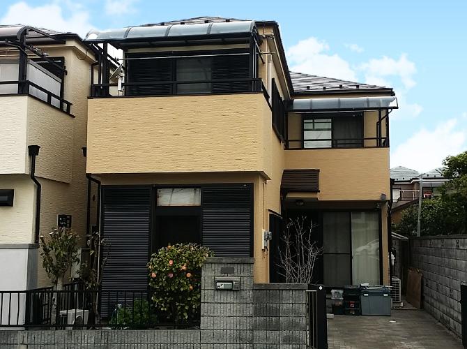 東京都足立区谷在家の外壁塗装・屋根塗装工事の施工後