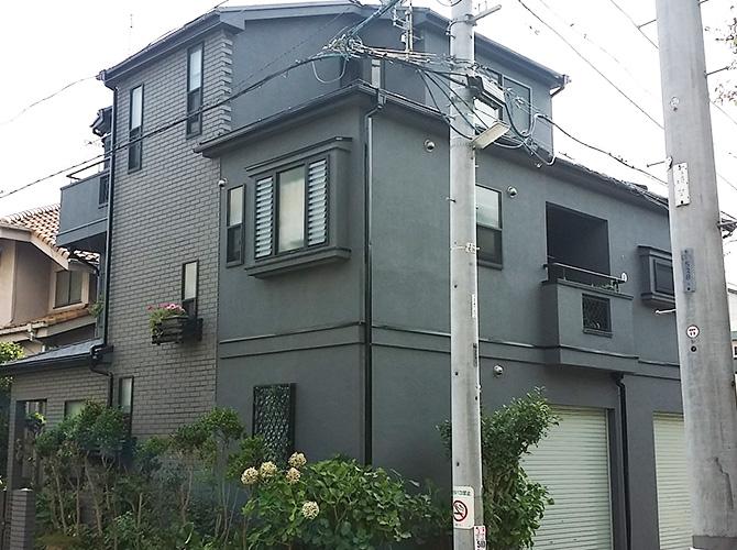 東京都足立区綾瀬の外壁塗装・屋根塗装工事の施工後
