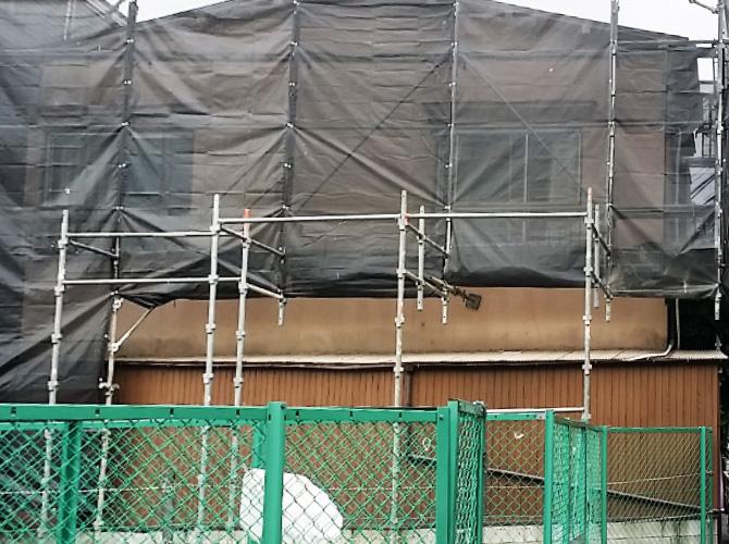 東京都豊島区の外壁塗装・屋根葺き替え工事の施工前