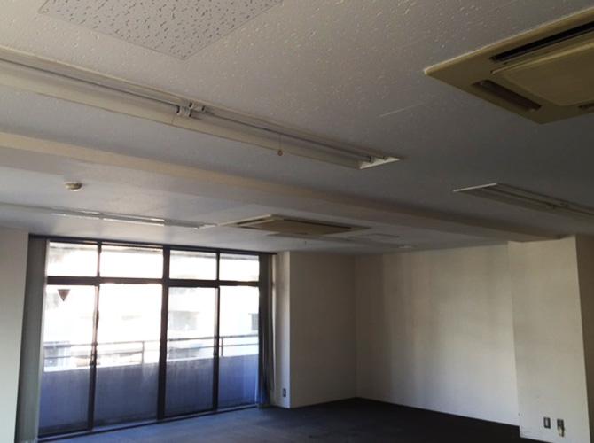 東京都大田区ビル内装塗装工事の施工前