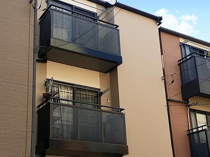 東京都荒川区の外壁塗装・屋根塗装工事の施工後