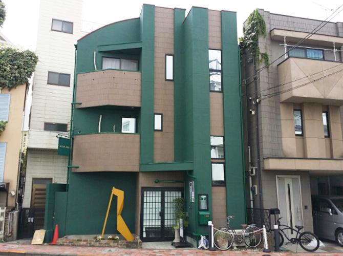 東京都渋谷区のナノコンポジットWの外壁塗装施工事例