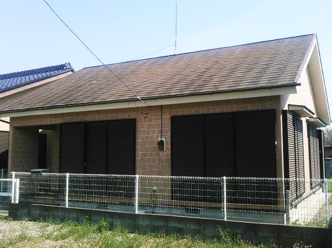 千葉県山武市の外壁塗装・屋根塗装工事の施工前