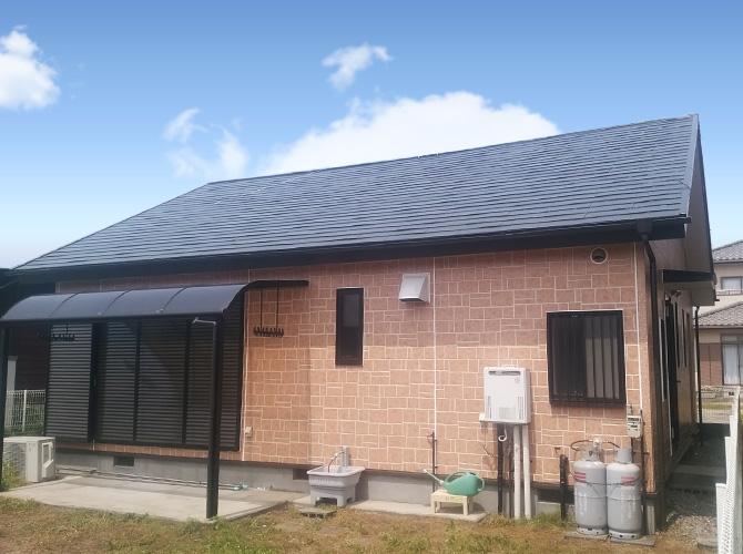 千葉県山武市の外壁塗装・屋根塗装工事の施工後