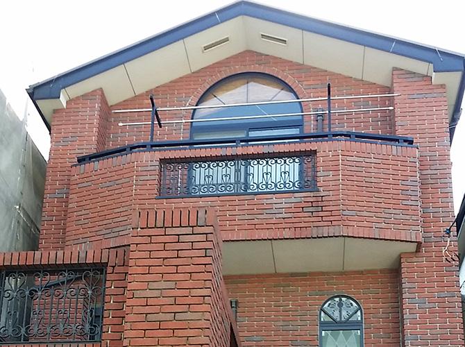 東京都足立区保木間の外壁塗装・屋根塗装工事の施工前