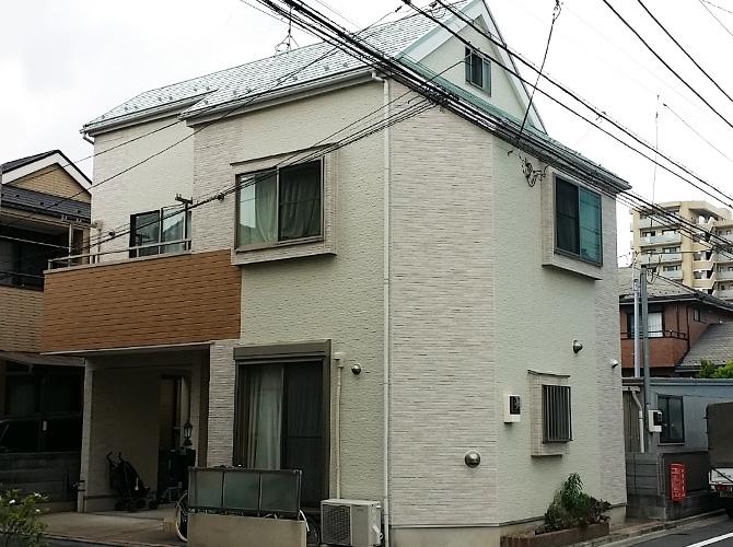 東京都江戸川区のシール工事・屋根塗装工事の施工後